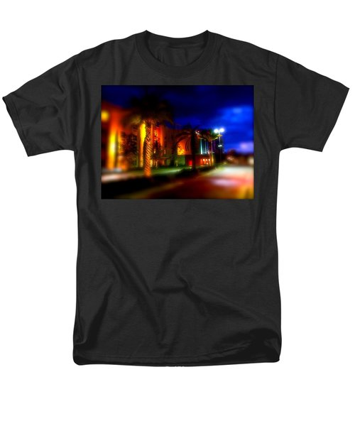 Men's T-Shirt  (Regular Fit) featuring the photograph Coral Color Florida by Iconic Images Art Gallery David Pucciarelli