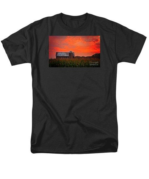 Corn Men's T-Shirt  (Regular Fit) by Randall  Cogle