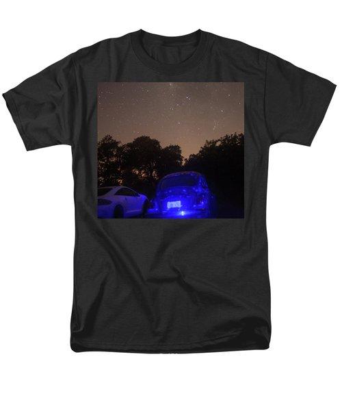Cosmic Beetle 7 Men's T-Shirt  (Regular Fit) by Carolina Liechtenstein