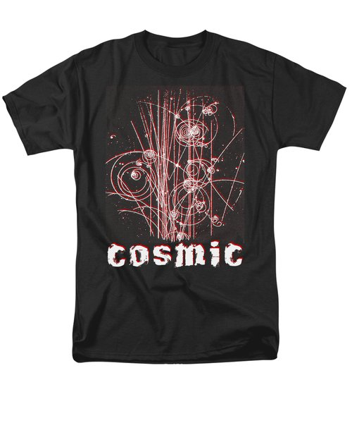 Men's T-Shirt  (Regular Fit) featuring the photograph Cosmic Bubbles by Robert G Kernodle