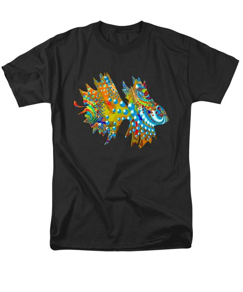 Cosmic Guppy Men's T-Shirt  (Regular Fit) by Deborah Runham