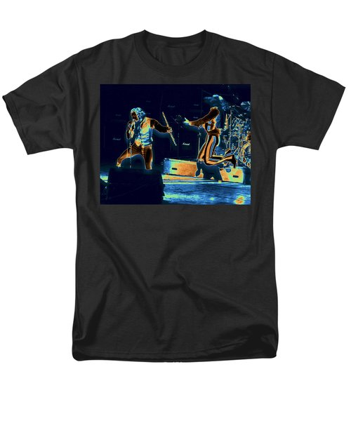 Men's T-Shirt  (Regular Fit) featuring the photograph Cosmic Ian And Leaping Martin by Ben Upham