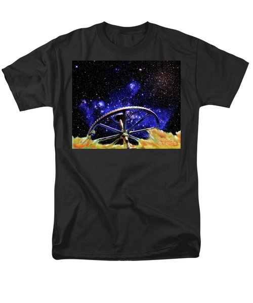 Men's T-Shirt  (Regular Fit) featuring the photograph Cosmic Wheel by Jim and Emily Bush