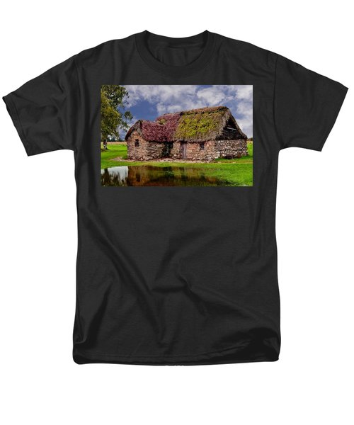 Cottage In The Highlands Men's T-Shirt  (Regular Fit) by Anthony Dezenzio