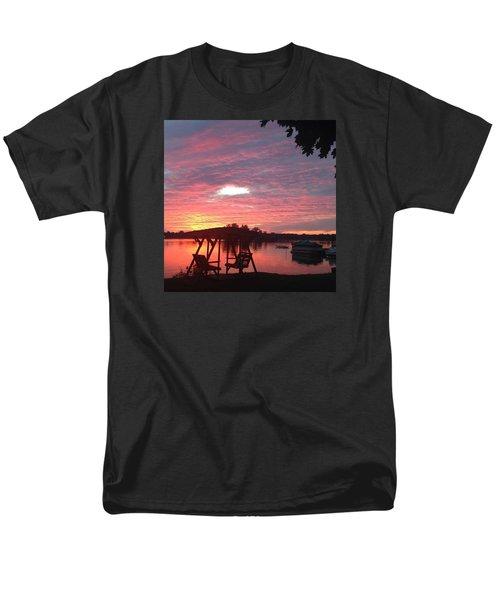 Cotton Candy Sunset Men's T-Shirt  (Regular Fit)
