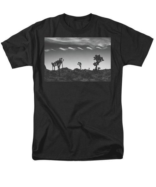 Cotton Sky On Joshua Trees Men's T-Shirt  (Regular Fit) by Joseph Westrupp