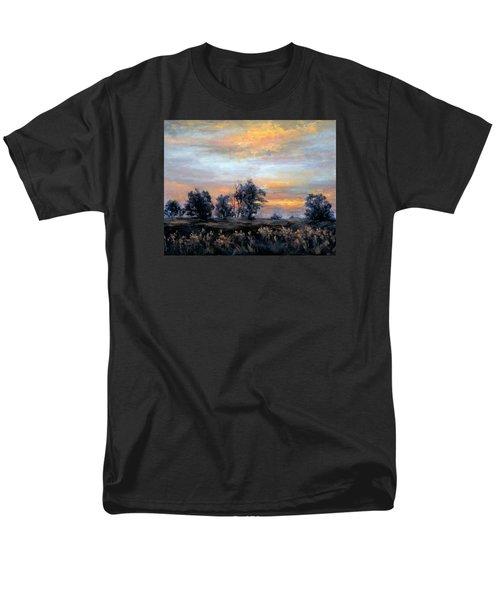 Cottonwoods At Sunset Men's T-Shirt  (Regular Fit)