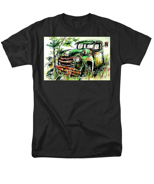 Men's T-Shirt  (Regular Fit) featuring the painting Country Antiques by Terry Banderas