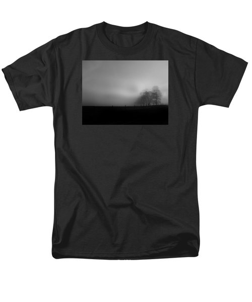 Men's T-Shirt  (Regular Fit) featuring the photograph Country Morning Vision Georgia Usa by Sally Ross