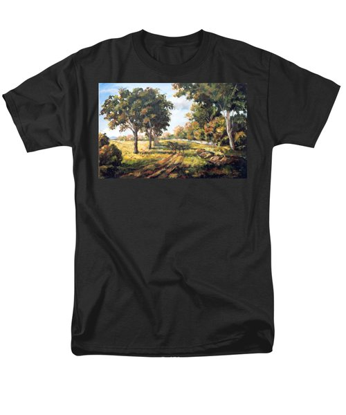 Countryside Men's T-Shirt  (Regular Fit) by Alexandra Maria Ethlyn Cheshire