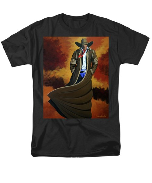 Cowboy Dust Men's T-Shirt  (Regular Fit) by Lance Headlee