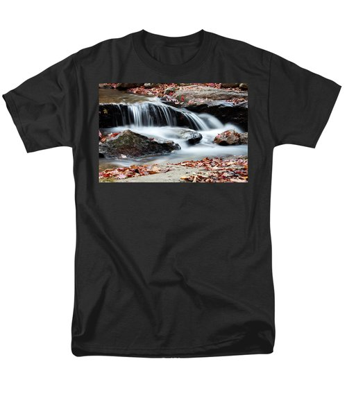 Coxing Kill In Autumn #1 Men's T-Shirt  (Regular Fit) by Jeff Severson