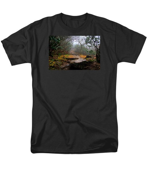 Men's T-Shirt  (Regular Fit) featuring the photograph Craggy Gardens by Jessica Brawley