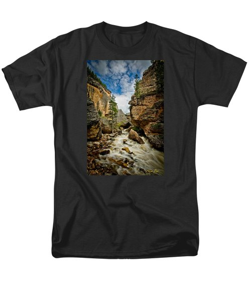Crazy Woman Canyon Men's T-Shirt  (Regular Fit) by Rikk Flohr