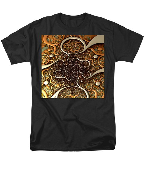 Men's T-Shirt  (Regular Fit) featuring the digital art Creepy Crawlers by Lyle Hatch