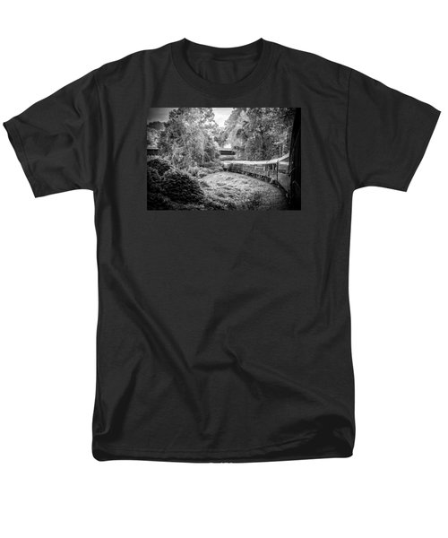 Men's T-Shirt  (Regular Fit) featuring the photograph Crossing Paths  by Kelly Hazel
