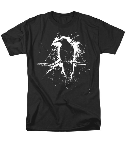 Crow Men's T-Shirt  (Regular Fit) by H James Hoff