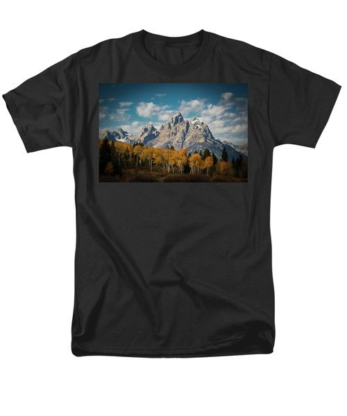 Crown For Tetons Men's T-Shirt  (Regular Fit) by Edgars Erglis