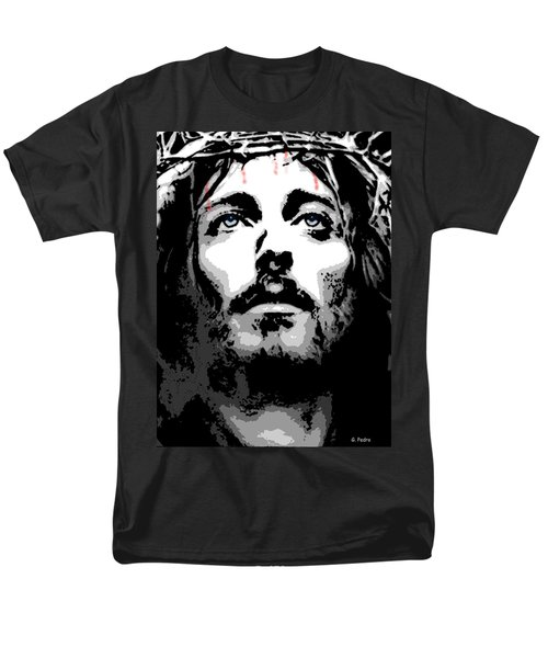 Crown Of Thorns Men's T-Shirt  (Regular Fit) by George Pedro