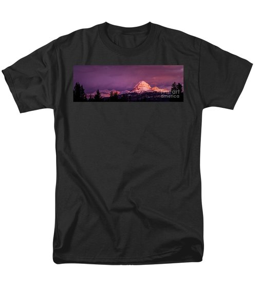 Crowsnest Sunrise Men's T-Shirt  (Regular Fit) by Brad Allen Fine Art
