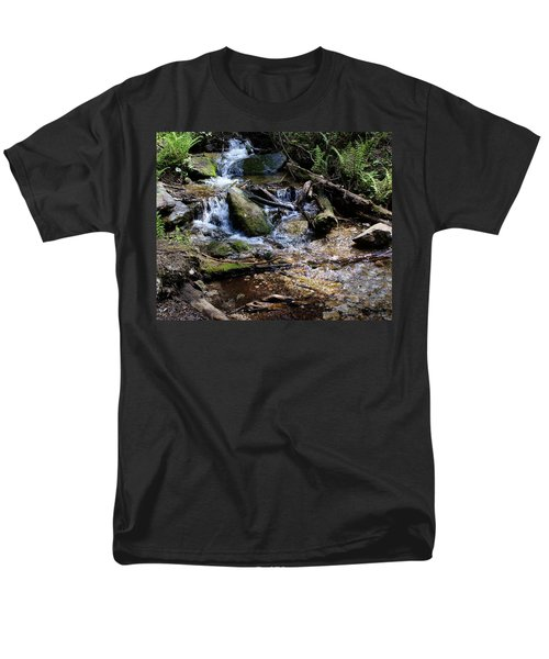 Men's T-Shirt  (Regular Fit) featuring the photograph Crystal Clear Creek by Ben Upham III