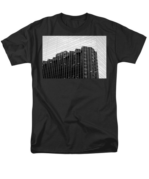 Men's T-Shirt  (Regular Fit) featuring the photograph Cubicle Farm by Valentino Visentini