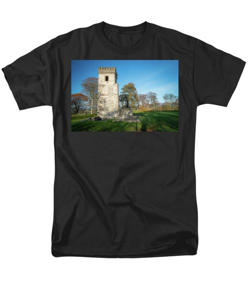 Cuchulains Castle Men's T-Shirt  (Regular Fit) by Marty Garland
