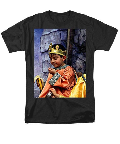 Men's T-Shirt  (Regular Fit) featuring the photograph Cuenca Kids 903 by Al Bourassa