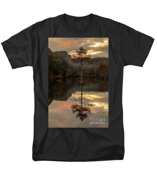 Cypress At Sunset Men's T-Shirt  (Regular Fit) by Iris Greenwell