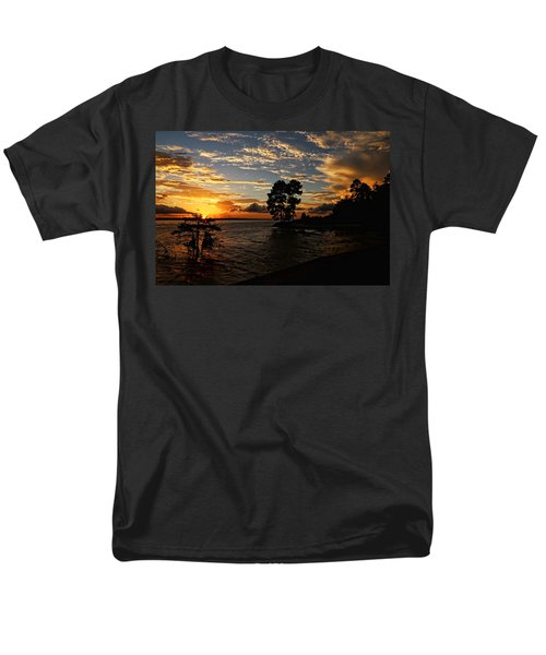 Cypress Bend Resort Sunset Men's T-Shirt  (Regular Fit) by Judy Vincent