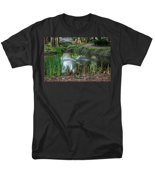 Men's T-Shirt  (Regular Fit) featuring the photograph Cypress Knees 02 by Gregory Daley  PPSA