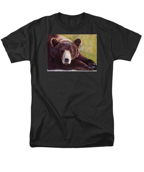 Da Bear Men's T-Shirt  (Regular Fit) by Billie Colson