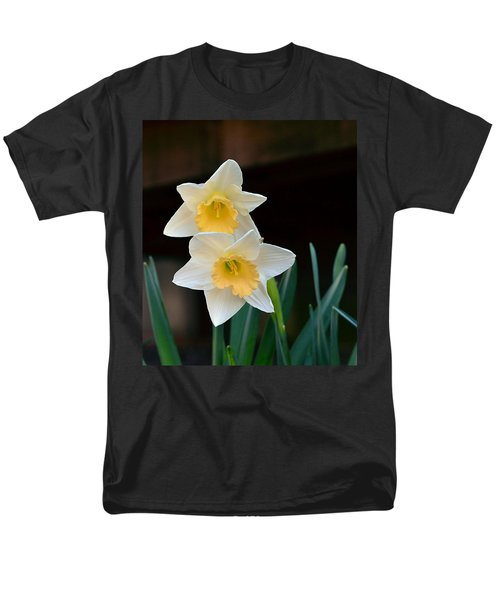 Daffodil Men's T-Shirt  (Regular Fit) by Kathy Eickenberg