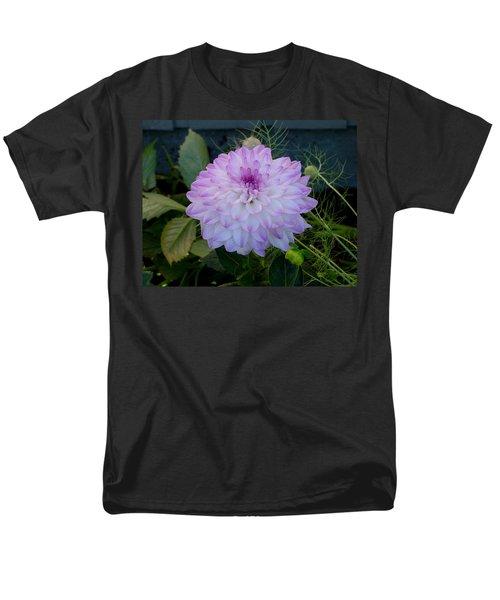 Dahlia Beautiful Men's T-Shirt  (Regular Fit) by Shirley Heyn