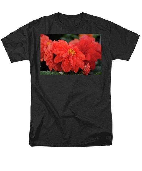 Dahlia Bloomer Men's T-Shirt  (Regular Fit) by Ronda Ryan