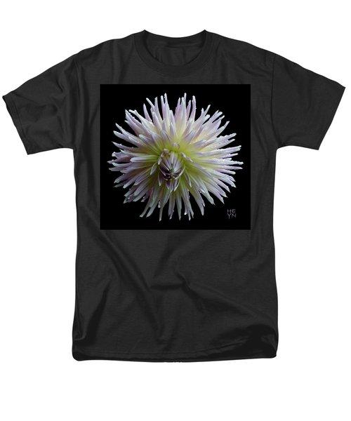 Dahlia Cutout Men's T-Shirt  (Regular Fit) by Shirley Heyn