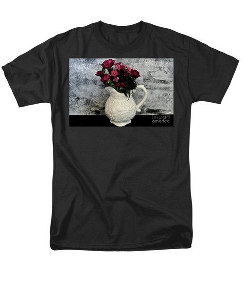 Dainty Flowers Men's T-Shirt  (Regular Fit) by Marsha Heiken