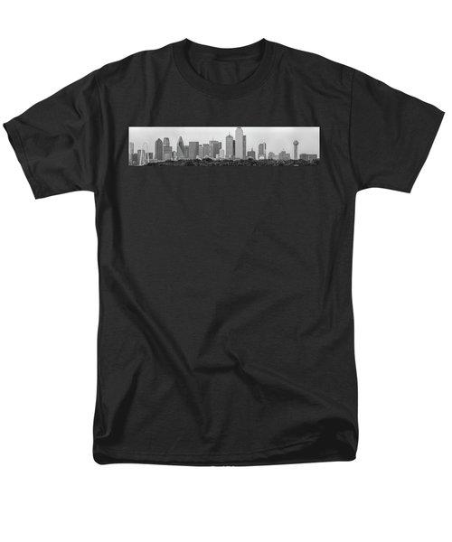Dallas In Black And White Men's T-Shirt  (Regular Fit) by Jonathan Davison