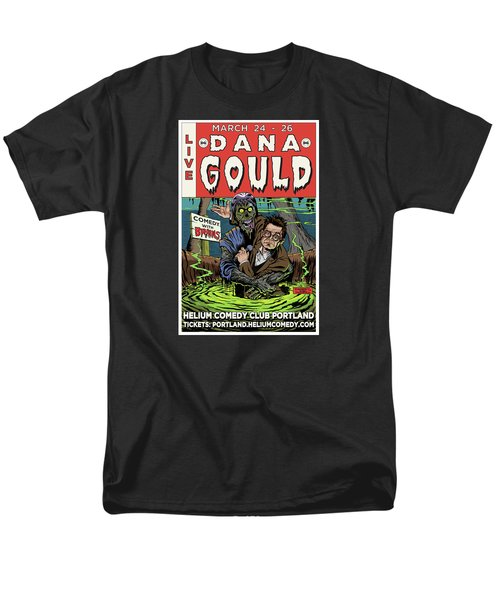 Dana Gould At The Helium Comedy Club Men's T-Shirt  (Regular Fit) by Mark Tavares