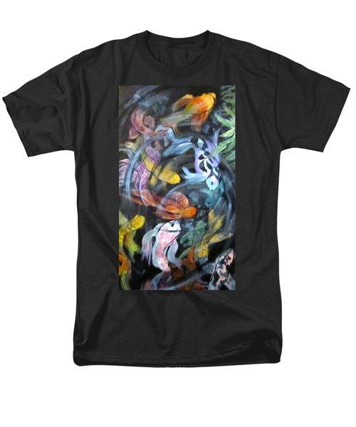 Dancing Koi Men's T-Shirt  (Regular Fit) by Barbara O'Toole