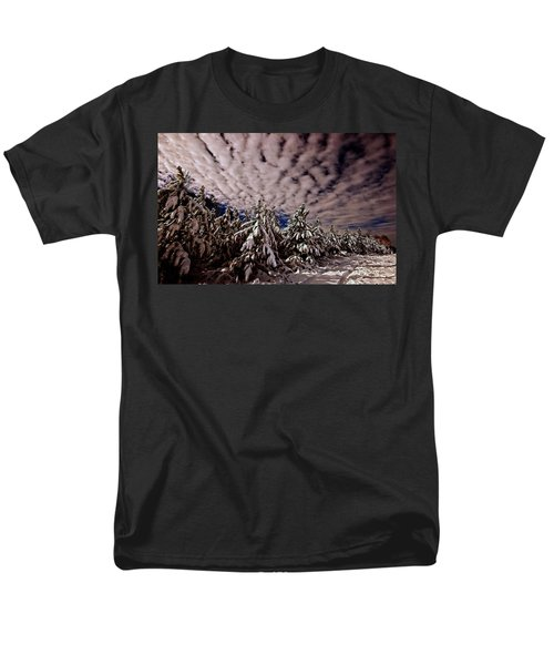 Men's T-Shirt  (Regular Fit) featuring the photograph Dancing Trees  by John Harding