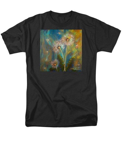 Dandelion Wishes Men's T-Shirt  (Regular Fit) by Deborha Kerr