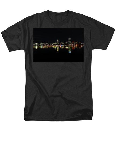 Dark As Night Men's T-Shirt  (Regular Fit) by Juergen Roth