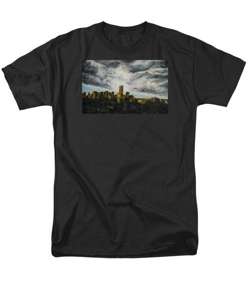 Dark Clouds Approaching Men's T-Shirt  (Regular Fit) by Ron Richard Baviello