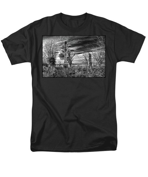 Men's T-Shirt  (Regular Fit) featuring the photograph Dark Days by Brian Wallace