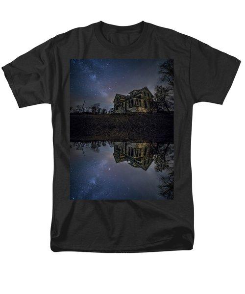 Dark Mirror Men's T-Shirt  (Regular Fit)