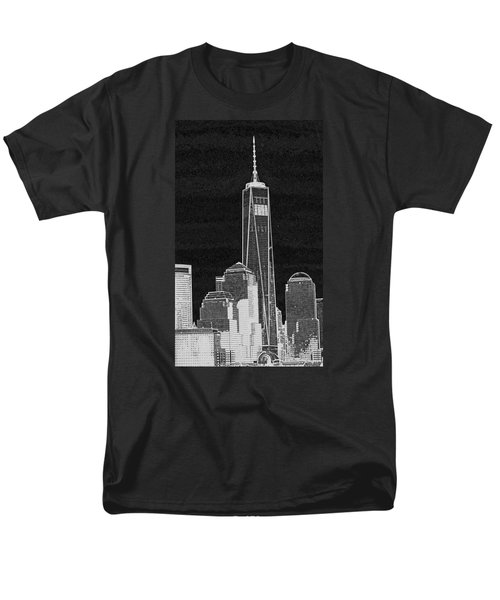 Dark Side Of The City Men's T-Shirt  (Regular Fit) by Sandy Taylor