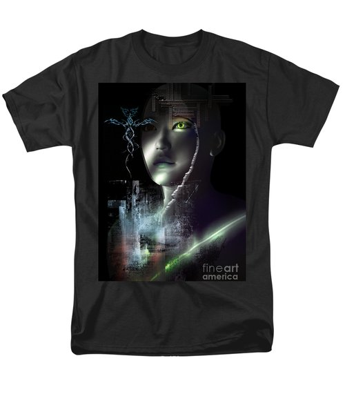 Dark Visions Men's T-Shirt  (Regular Fit) by Shadowlea Is