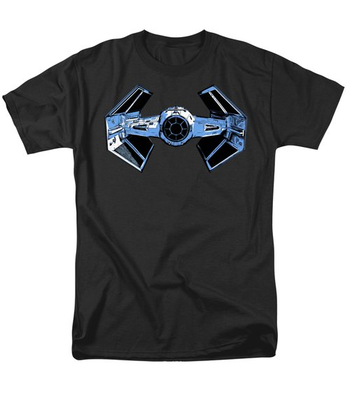 Darth Vaders Tie Figher Advanced X1 Tee Men's T-Shirt  (Regular Fit) by Edward Fielding