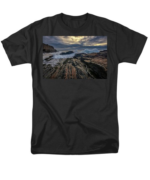 Men's T-Shirt  (Regular Fit) featuring the photograph Dawn At Bald Head Cliff by Rick Berk